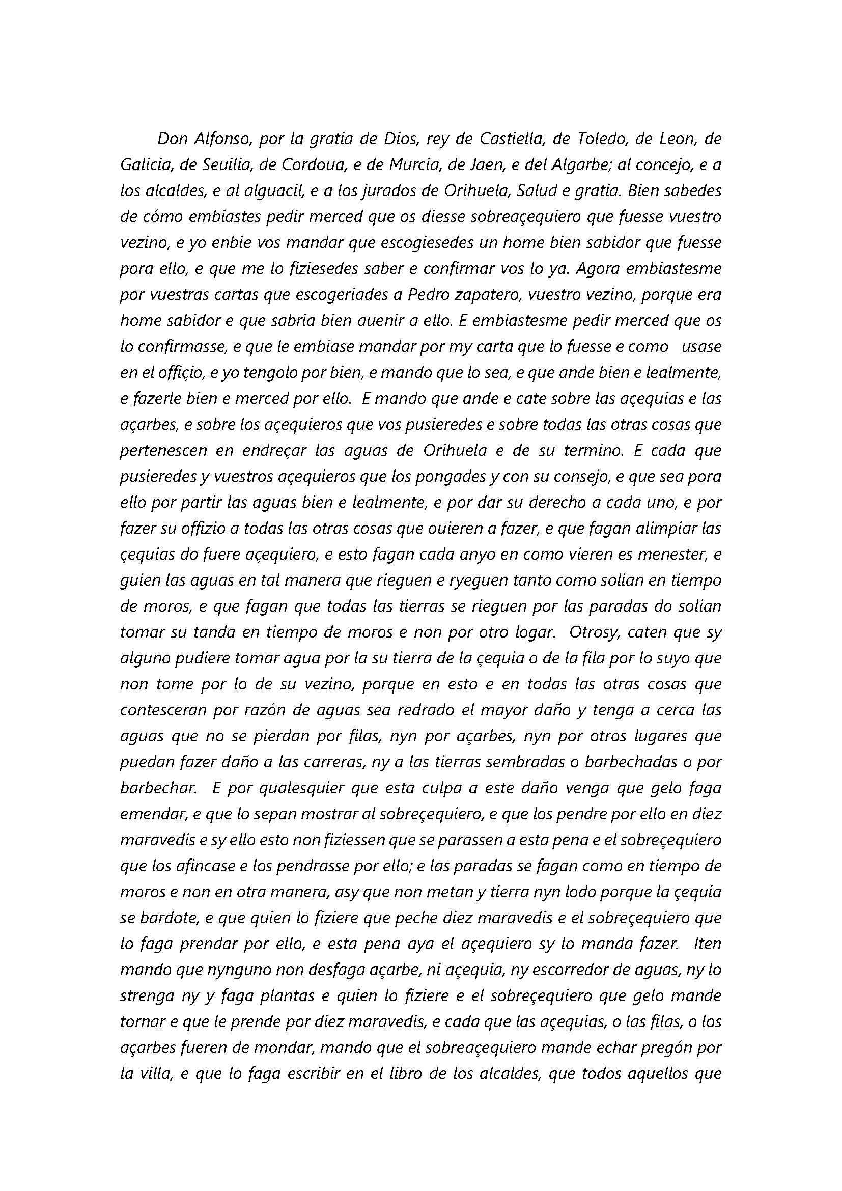 Breve noticia histórica sobre la normativa reguladora del regadío en el Juzgado de Aguas de Orihuela_Página_2