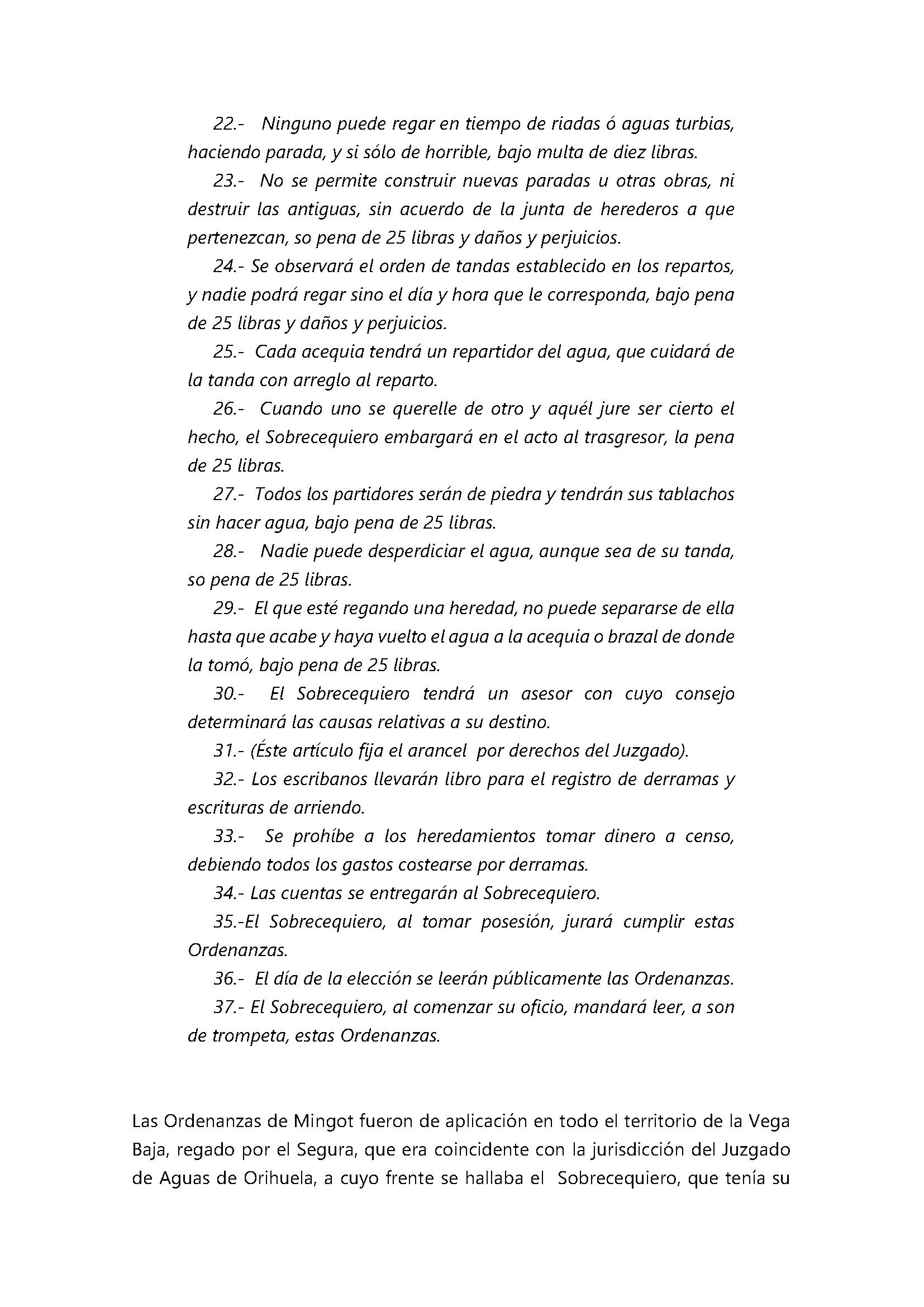 Breve noticia histórica sobre la normativa reguladora del regadío en el Juzgado de Aguas de Orihuela_Página_6