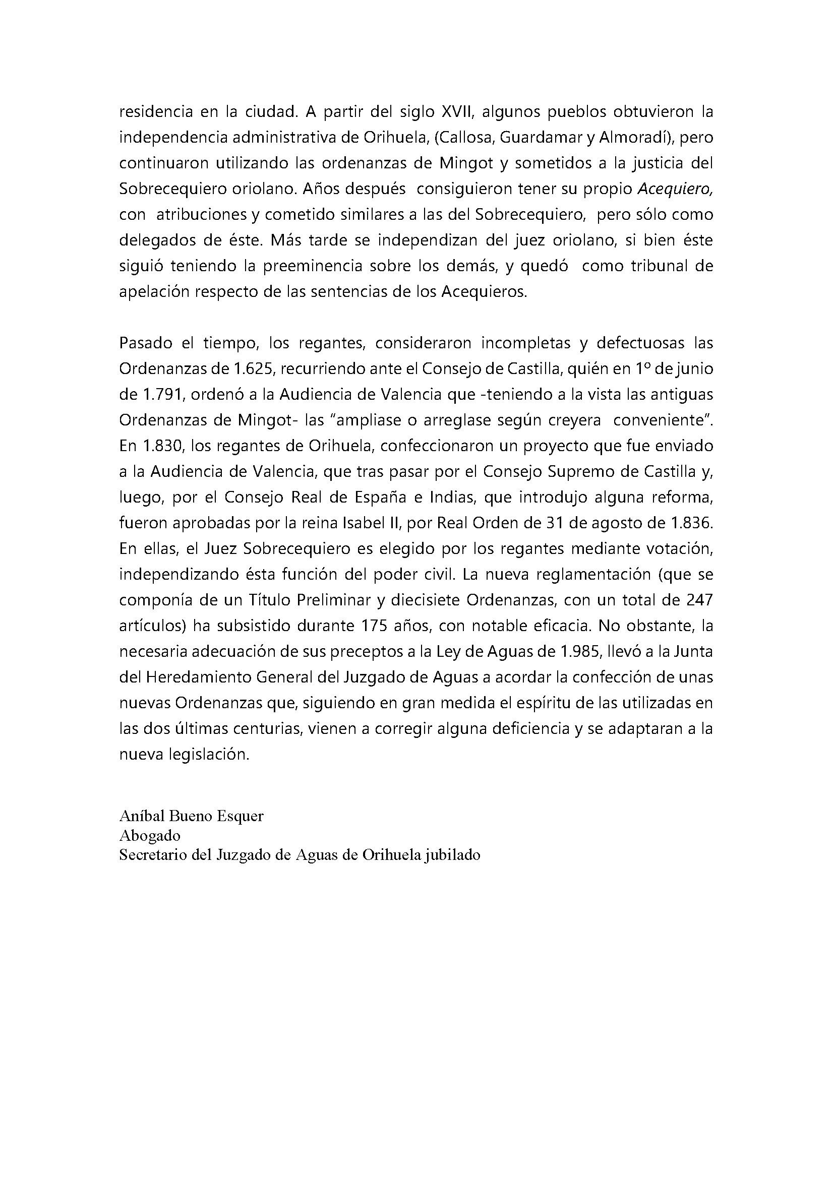 Breve noticia histórica sobre la normativa reguladora del regadío en el Juzgado de Aguas de Orihuela_Página_7