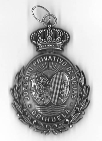 Medalla Plata Juzgado anverso