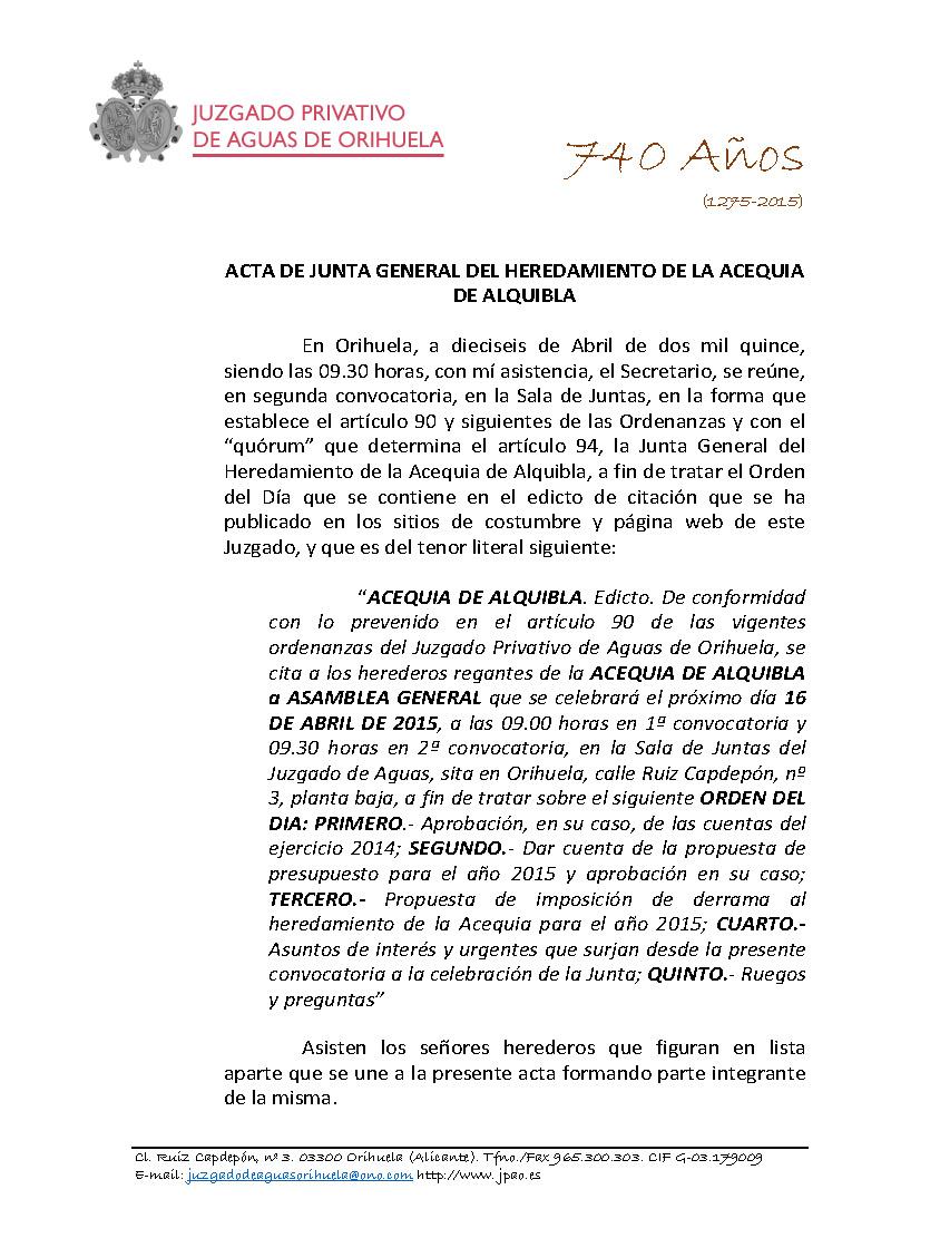 37 2015 ACEQUIA ALQUIBLA  ACTA JUNTA GENERAL DE FECHA 16042015_Página_1