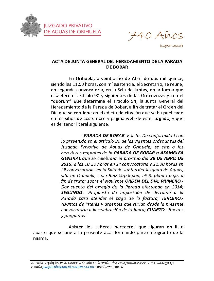 45 2015 PARADA DE BOBAR  JUNTA ASAMBLEA GENERAL 28042015_Página_1