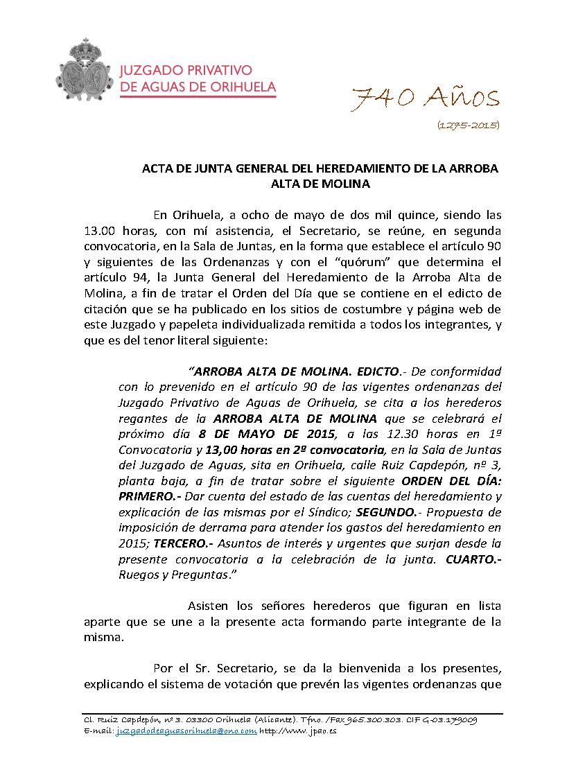 49 2015 ARROBA ALTA DE MOLINA  ACTA DE JUNTA GENERAL 08052015_Página_1