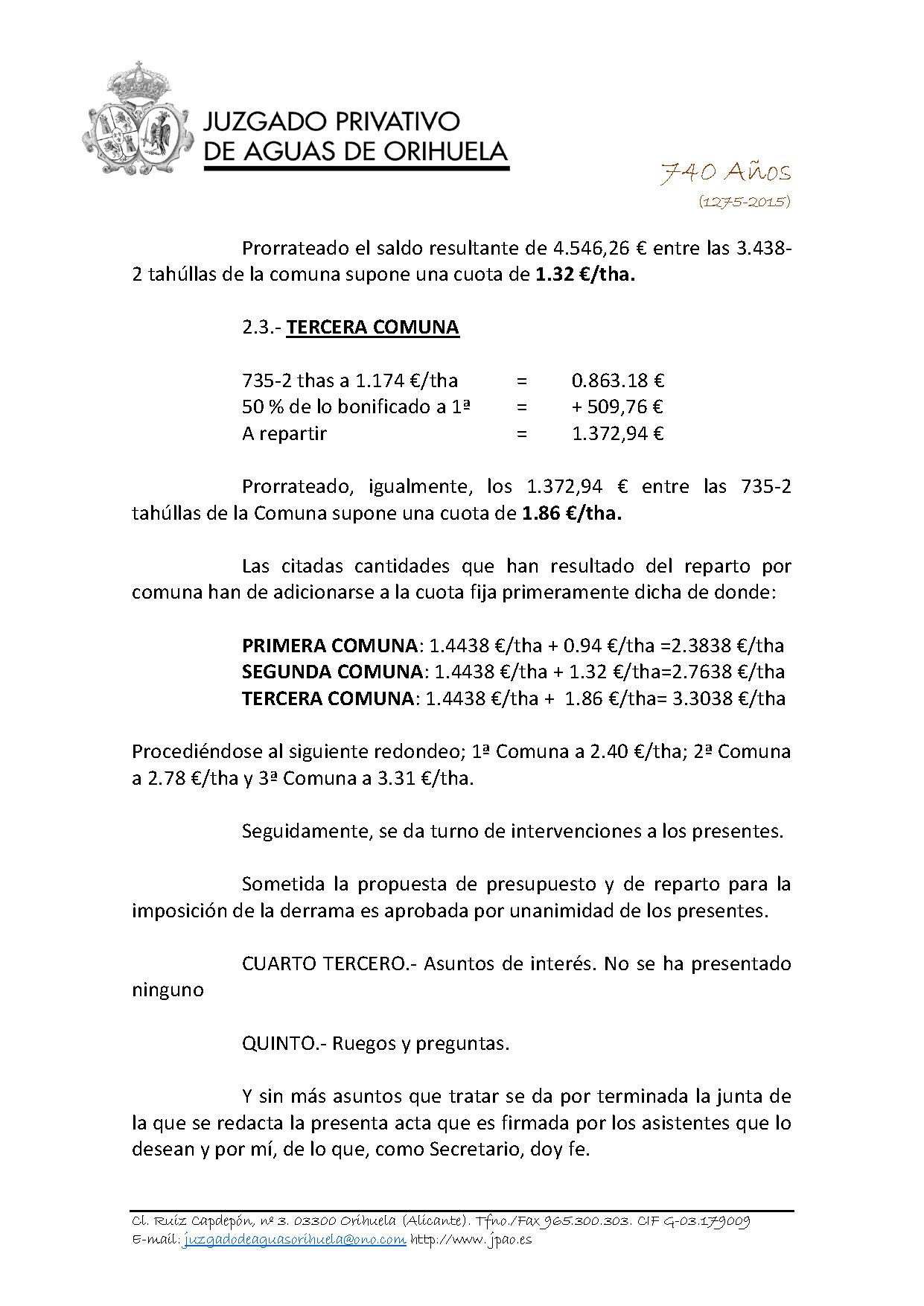 58 2015 AZARBE DE MILLANARES  ACTA ASAMBLEA GENERAL 18052015_Página_4