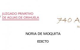EDICTO Noria Moquita