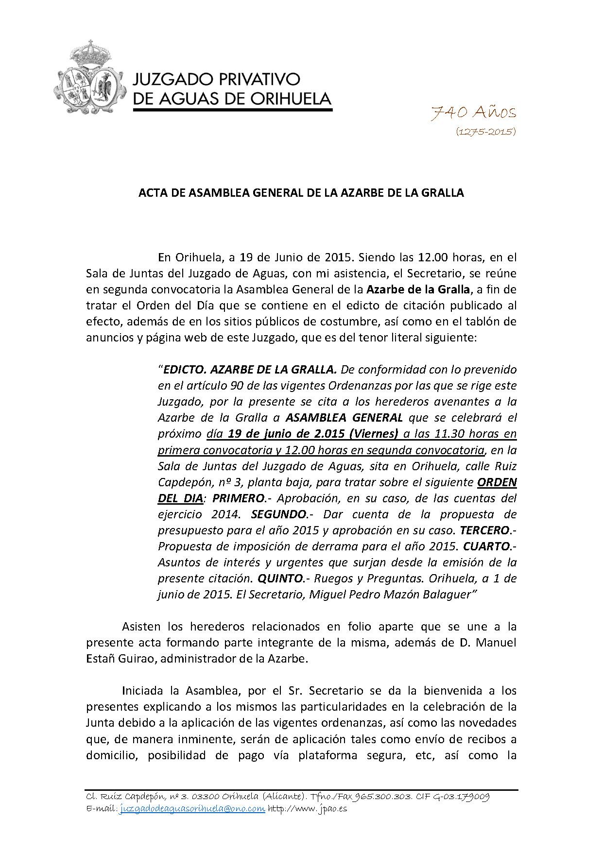 84 AZARBE DE LA GRALLA  ASAMBLEA GENERAL CUENTAS 19062015 (Autoguardado)_Página_1