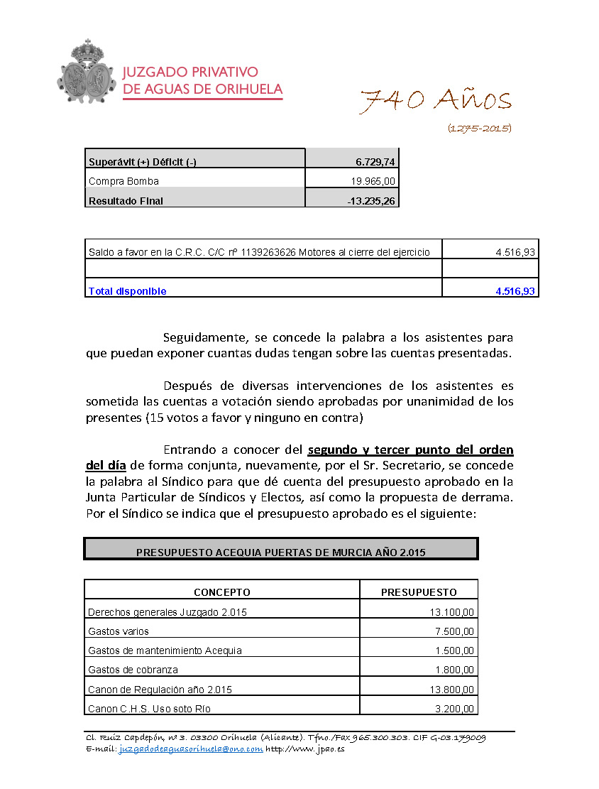 85 2015 ACEQUIA PUERTAS DE MUCIA  ACTA JUNTA GENERAL DE FECHA 19062015_Página_5