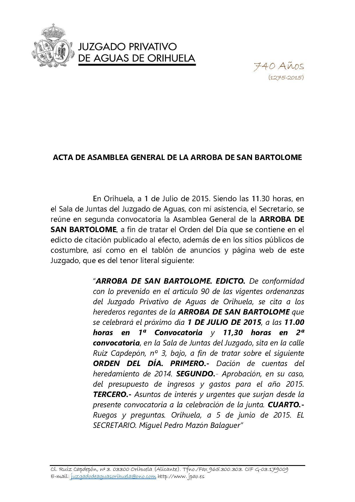 88  2015 ARROBA DE SAN BARTOLOME  ASAMBLEA GENERAL CUENTAS 01072015_Página_1