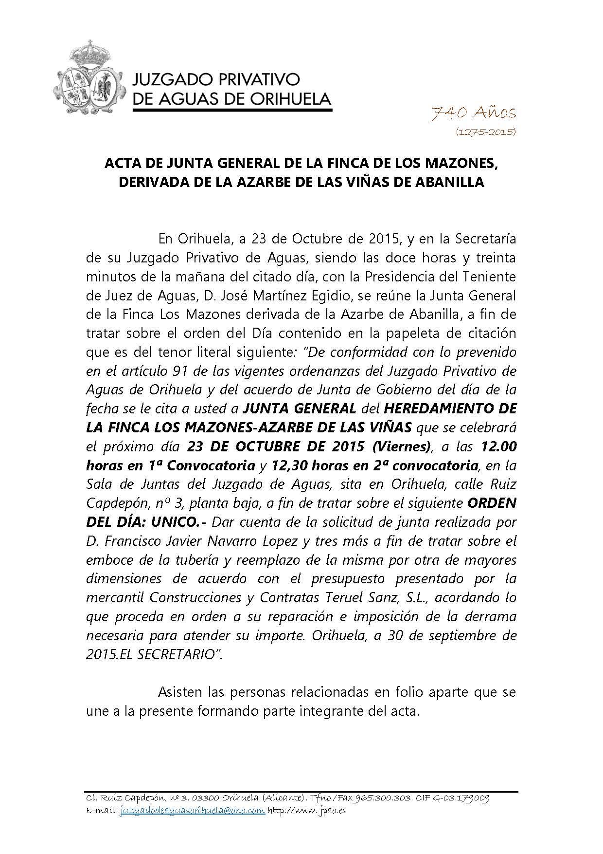 161 2015 ACTA DE JUNTA FINCA LOS MAZONES_Página_1