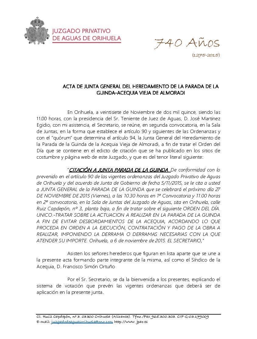 31 2015 PARADA DE LA GUINDA. ACTA DE JUNTA DE 27112015_Página_1