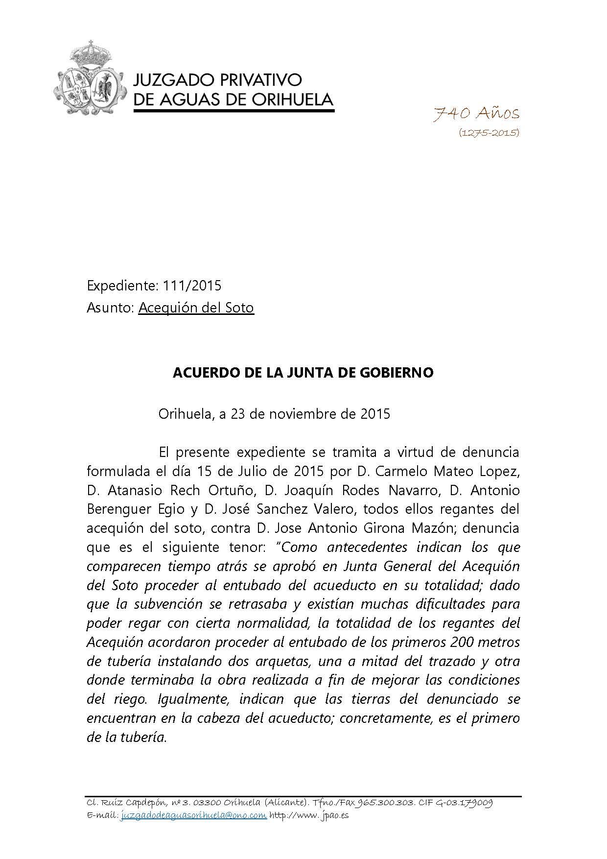 111 2015 ACEQUION DEL SOTO. ACUERDO JUNTA gobierto 111115_Página_01