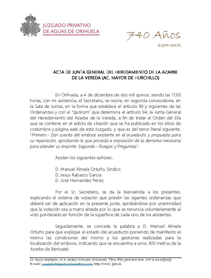 177 2015 AZARBE DE LA VEREDA. ACTA DE JUNTA GENERAL DE FECHA 04122015_Página_1
