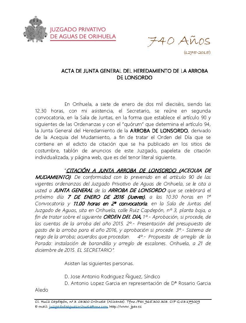 213 2015 ARROBA DE LONSORDO. ACTA DE JUNTA GENERAL DE FECHA 07012016_Página_1