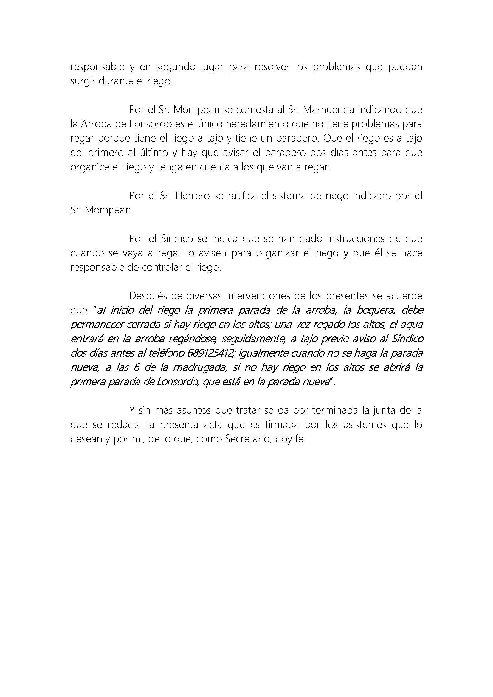 213 2015 ARROBA DE LONSORDO. ACTA DE JUNTA GENERAL DE FECHA 07012016_Página_4