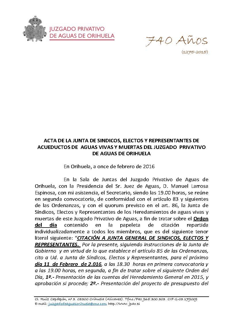 28 2016 HEREDAMIENTO GENERAL. ACTA DE APROBACION DE PRESUPUESTOS DE FECHA 11022016_Página_1