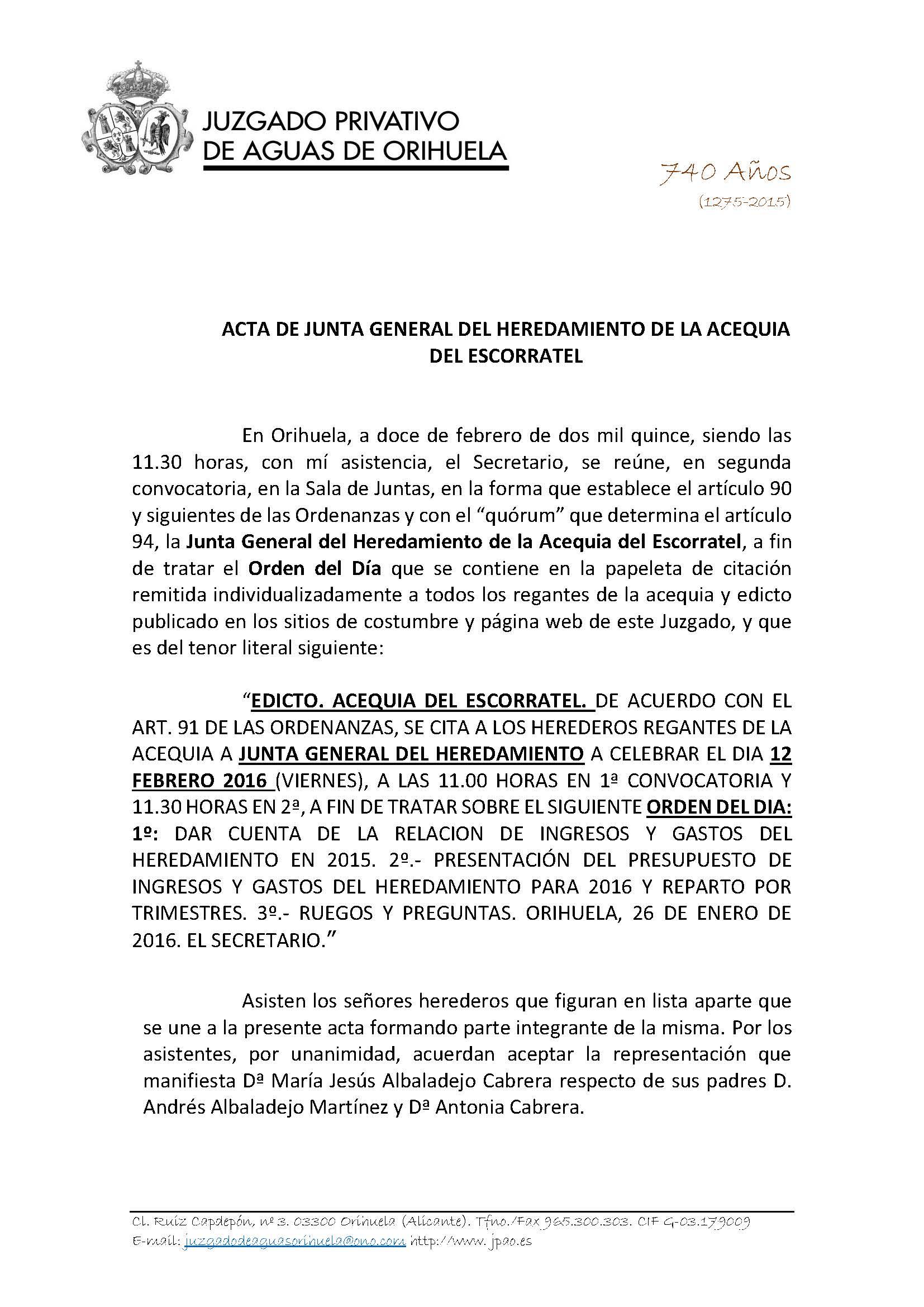 9 2016 ACEQUIA DEL ESCORRATEL. ACTA ASAMBLEA GENERAL 12022016_Página_1